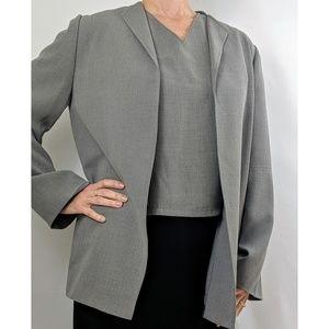 NWOT Vintage Halston Sz 12 Large Suit Top Jacket